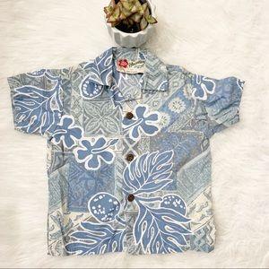 Hilo Hatties Boys Toddler Size 2T Hawaiian Shirt